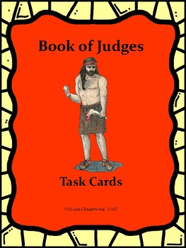 Book of Judges Task Cards