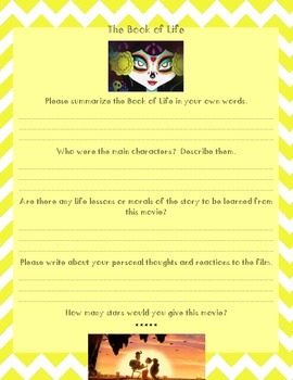 Book of Life Movie Review Essay or Composition