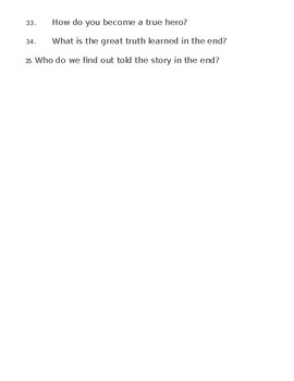 Book of Life Summary Questions