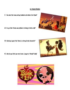 Book of Life Viewing Guide and Discussion Questions