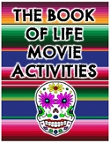 Book of Life Writing Activities for Spanish Class