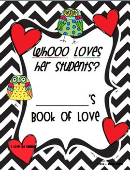 Book of Love Cover with Owls