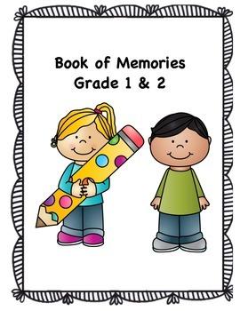 Book of Memories- A Memory Book for Grade 1 & 2 (Canadian Spelling)
