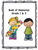 Book of Memories- A Memory Book for Grade 1 & 2 (American
