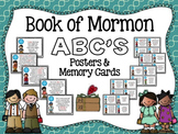 Book of Mormon ABC's Poster & Memory Cards
