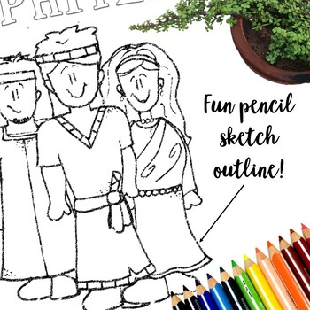 Book Of Mormon Coloring Pages 27 Pages Instant Download By Timesavors