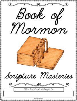 Book of Mormon Scripture Masteries - Cursive
