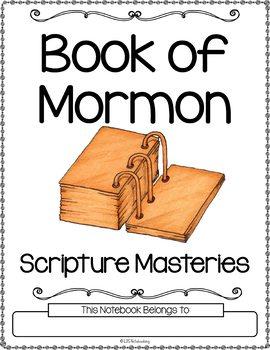 Book of Mormon Scripture Masteries - Manuscript