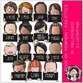 Book of Mormon clip art - Kidlettes - LDS - by Melonheadz