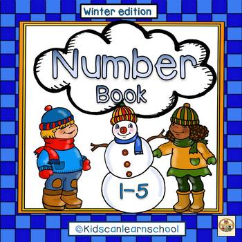 Number Book  1-5. Winter edition