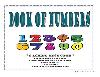 Book of Numbers -Number Talks