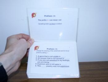 Book of Prefixes: adding prefixes to root words