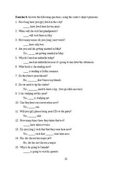 Book of Pronouns  Grades K-12