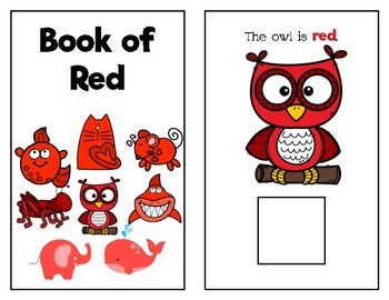 Book of Red: Adapted Book (FREEBIE)