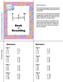 Book of Rounding: 10's, 100's, and 1000's with number lines