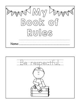 Book of Rules for Beginning of the Year