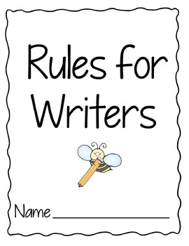 Book of Rules for Writers