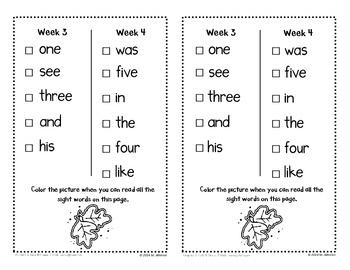 Book of Sight Words - EDITABLE
