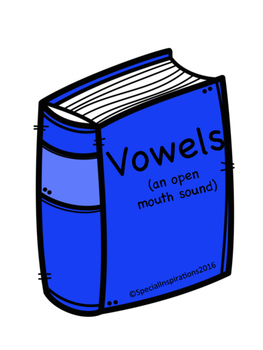 Book of Snowy Vowels and Consonants Sorting Avitity