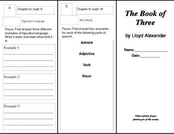 Book of Three Trifold Packet