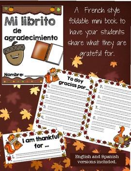 Book of gratitude / Librito de agradecimientos