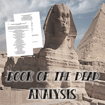 Book of the Dead: Primary Source Analysis