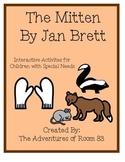 "Book of the Month Activites for Children with Autism- ""The Mitten"""