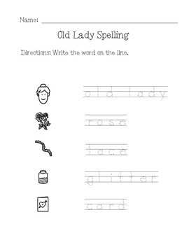 "Book of the Month Activities- ""There Was An Old Lady Who Swallowed a Rose"""
