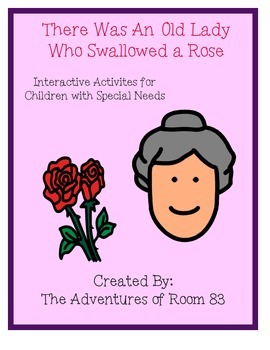 """Book of the Month Activities- """"There Was An Old Lady Who S"""