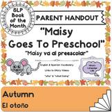 """Maisy Goes to Preschool"" Parent Handout"