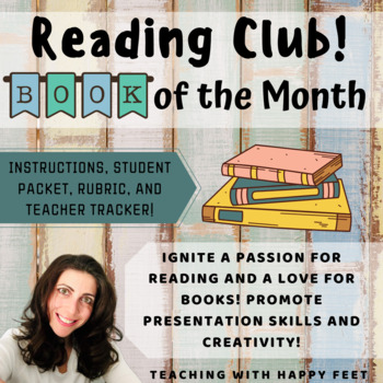 Book of the Month Reading Comprehension Projects