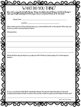 Book-of-the-Year Awards Project: FREE SAMPLE for End of the School Year Fun!