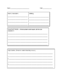 Book or Chapter Summary Graphic Organizer