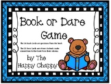 Book or Dare Game for Fiction Text
