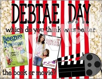 Book VS. Movie Book Club