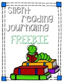 Book report - Silent reading journaling