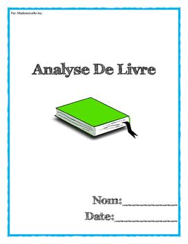 Book report - En Français