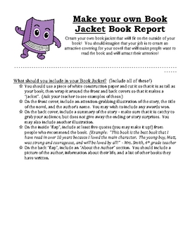Book report options