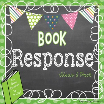 Book response activites