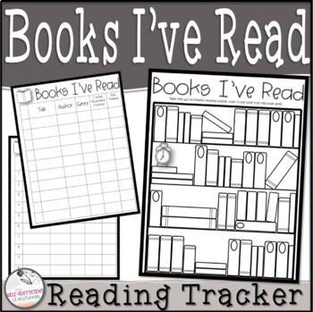 Books I've Read~ Chart & Visual Reading Tracker