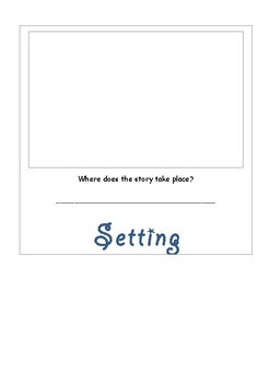 Book study for beginner writers flip book
