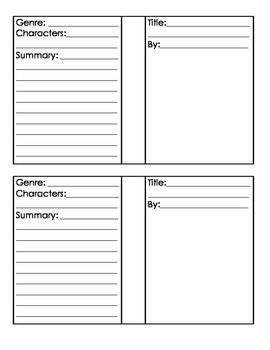 Book templates for Bulletin Boards
