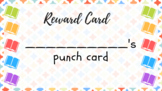 Book-themed printable punch cards