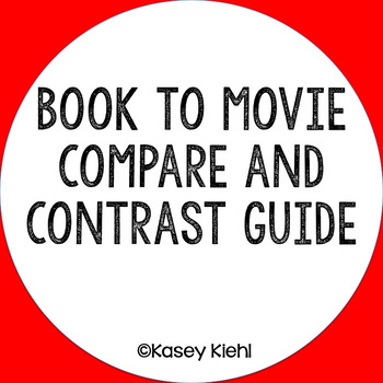 compare and contrast movies and books