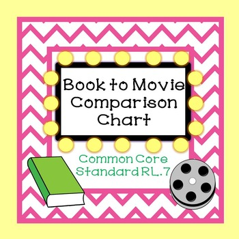 Book to Movie Comparison Chart
