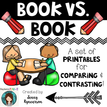 Book versus Book! A Packet of Ready-to-Print Pages for Com