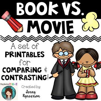 Book vs. ___ Bundle! Book vs. Book AND Book vs. Movie Printables!