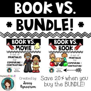 book vs bundle book vs book and book vs movie printables. Black Bedroom Furniture Sets. Home Design Ideas