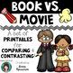 Book versus ____ Bundle! Book vs. Book AND Book vs. Movie