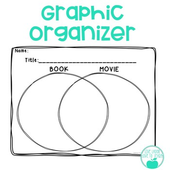 Book vs Movie - Graphic Organizer and Writing Prompts